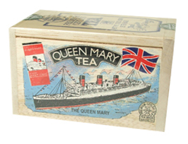 Queen Mary tea tin