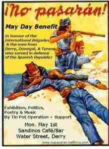 Irish volunteers in Spain