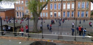 Playground at Sandhurst Road School