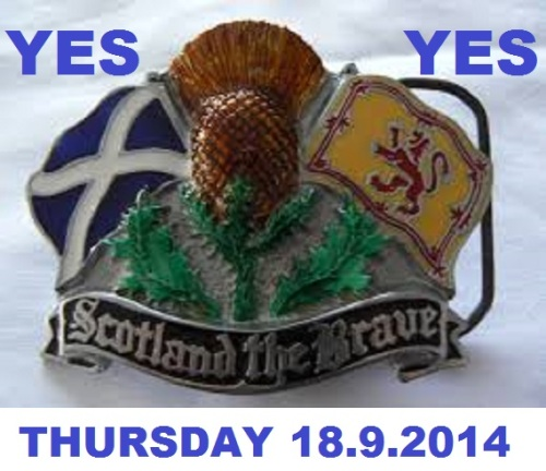 Scotland The Brave Yes
